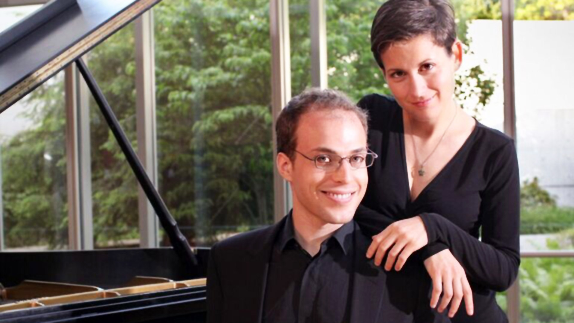 Anna Polonsky and Orion Weiss