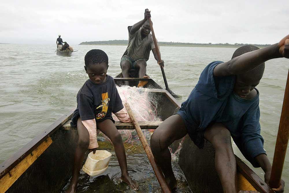 Lake Volta, Ghana, 2006.