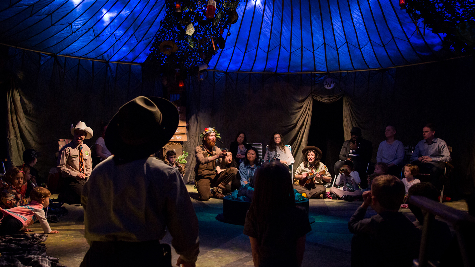 Bringing Everyone Around the Campfire: Trusty Sidekick Theater Company
