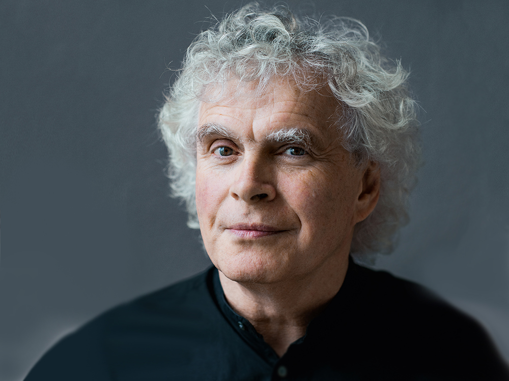 Simon Rattle, piano