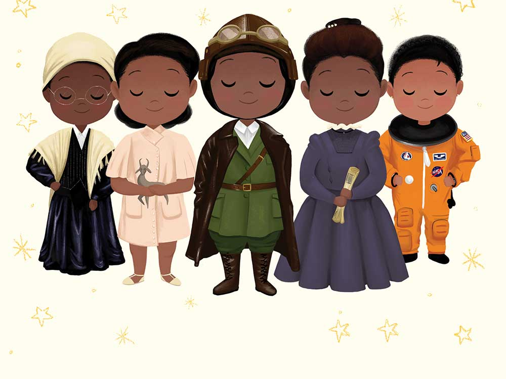 Vashti Harrison's book, Little Leaders: Bold Women in Black History