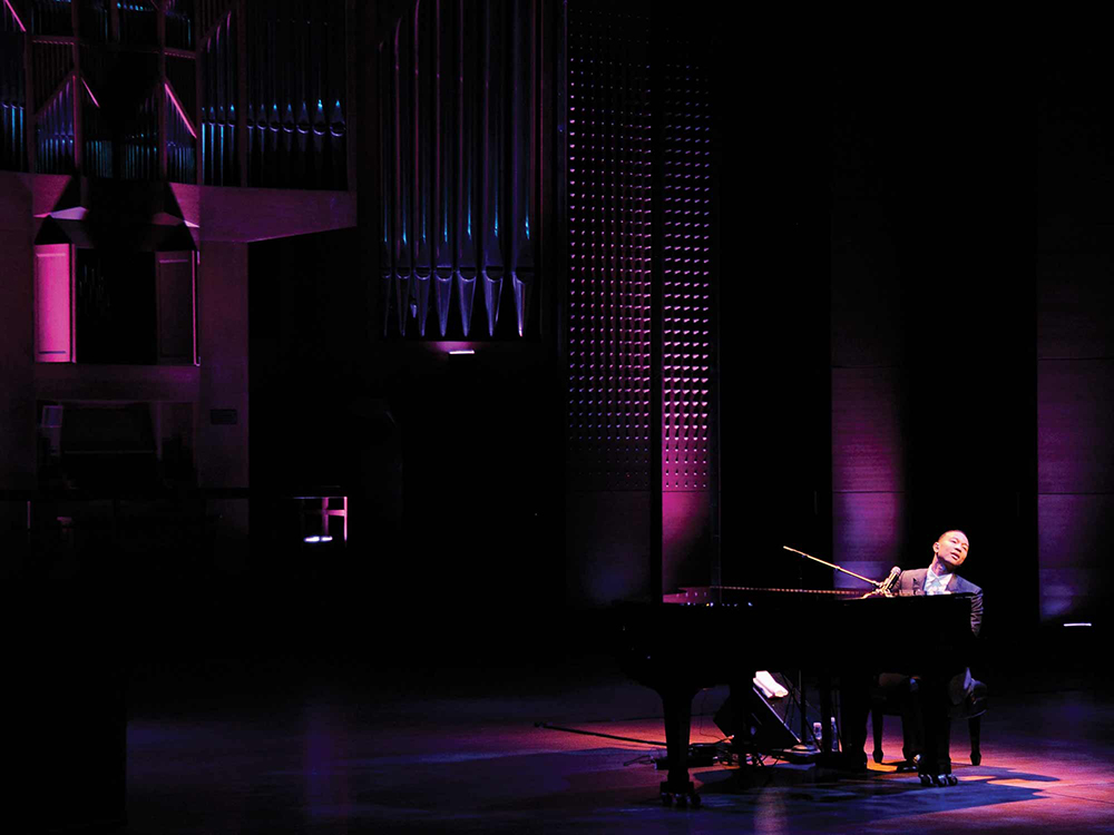 John Legend in Alice Tully Hall