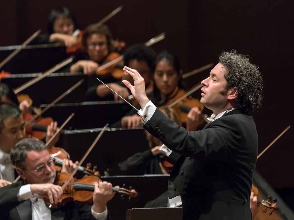 Gustavo Dudamel and the Los Angeles Philharmonic