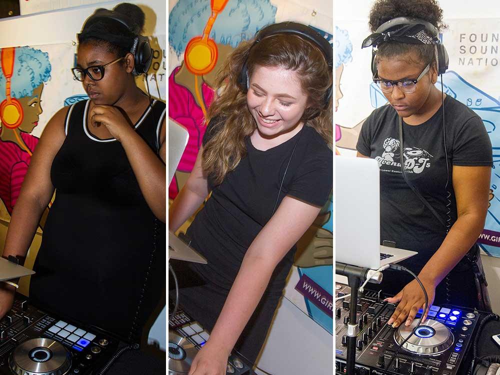 The Lower Eastside Girls Club Avenue D-Js